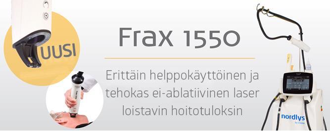 Ellipse FRAX 1550 helppokäyttöinen, ei-ablatiivinen laser